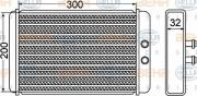 Радиатор печки HELLA 8FH 351 308-261