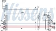 Радиатор печки NISSENS 707083