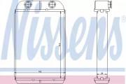 Радиатор печки NISSENS 71452