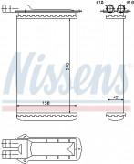 Радиатор печки NISSENS 71942