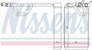 Радиатор печки NISSENS 72209