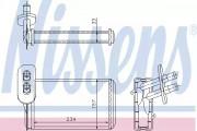 Радиатор печки NISSENS 73962