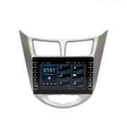 Штатная магнитола Incar XTA-9301R для Hyundai Accent 2011+ (Android 10)
