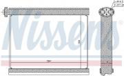 Испаритель кондиционера NISSENS 92317