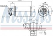 Осушувач кондиціонера NISSENS 95230