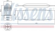 Осушувач кондиціонера NISSENS 95490