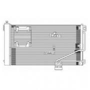 Радиатор кондиционера DELPHI TSP0225610