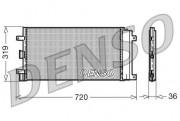 Радиатор кондиционера DENSO DCN09042