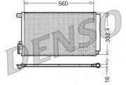 Радиатор кондиционера DENSO DCN13109