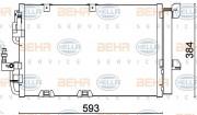 Радиатор кондиционера HELLA 8FC 351 301-224