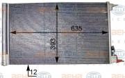 Радиатор кондиционера HELLA 8FC 351 307-634