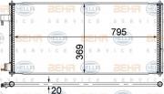 Радиатор кондиционера HELLA 8FC 351 318-354