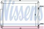 Радиатор кондиционера NISSENS 940012