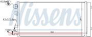 Радіатор кондиціонера NISSENS 940160