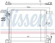 Радиатор кондиционера NISSENS 940338