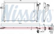 Радиатор кондиционера NISSENS 940360