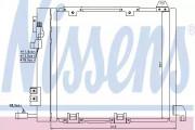 Радиатор кондиционера NISSENS 94385