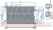 Радиатор кондиционера NISSENS 94597