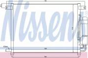 Радіатор кондиціонера NISSENS 94641
