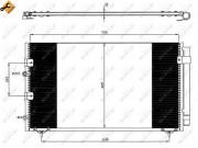 Радиатор кондиционера NRF 35609