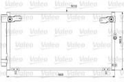 Радиатор кондиционера VALEO 814047