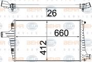 Интеркулер HELLA 8ML 376 776-044