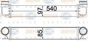 Интеркулер HELLA 8ML 376 776-154