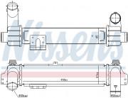 Интеркулер NISSENS 96215