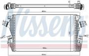 Интеркулер NISSENS 96455