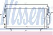 Интеркулер NISSENS 96617