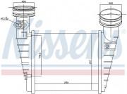 Интеркулер NISSENS 96731