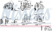 Турбина NISSENS 93021