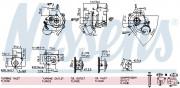 Турбина NISSENS 93030