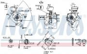 Турбина NISSENS 93038