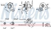 Турбина NISSENS 93051