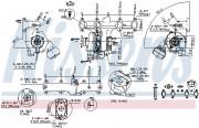 Турбина NISSENS 93090