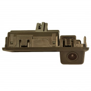 Prime-X Камера заднього виду з активною (динамічною) розміткою Prime-X TR-07 CAN+IPAS для Audi A5, B9, Q2 / Skoda Kodiaq, Rapid / Volkswagen Polo V (у ручку багажника)