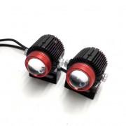 Светодиодные линзы ПТФ Torssen Bi-Led FOG mini AS15 (2-х цветные)