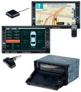 Challenger DVA-9705 Navigator (карта Визиком)