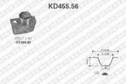 Комплект ГРМ SNR KD455.56