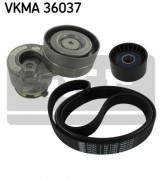 Ремень генератора (комплект) SKF VKMA 36037