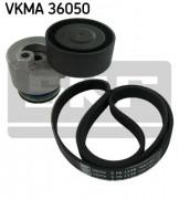 Ремень генератора (комплект) SKF VKMA 36050