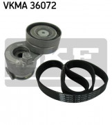 Ремень генератора (комплект) SKF VKMA 36072