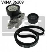 Ремень генератора (комплект) SKF VKMA 36209