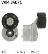 Ролик натяжителя ремня SKF VKM 34071