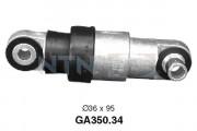 Ролик натяжителя ремня SNR GA350.34