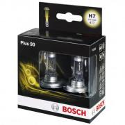 Комплект галогенных ламп Bosch Plus 90 1987301075 (H7)