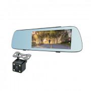 Зеркало заднего вида с монитором, видеорегистратором и камерой заднего вида Celsior M2