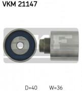 Ролик натяжителя ремня (паразитный, ведущий) SKF VKM 21147
