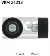 Ролик натяжителя ремня (паразитный, ведущий) SKF VKM 24213